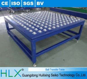 High Throughputs & Efficiencies Ball Transfer Conveyor pictures & photos