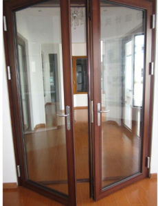 Aluminum Casement Door for Project pictures & photos