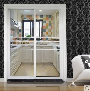Beatiful Glass Door with Broad View and Nice Pattern pictures & photos