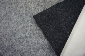 Double Face Black & White Wool Fabric pictures & photos
