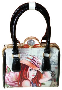 China Wholesale Cartoon Design Leather Fashion Handbags for Party pictures & photos