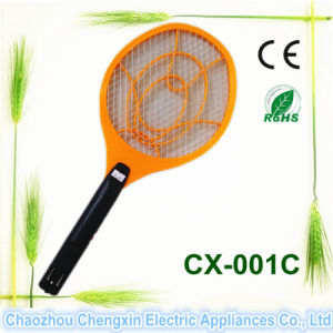 Camping with Rechargeable Electronic Mosquito Killer Racket pictures & photos
