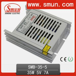 35W 5V 7A Ultra Thin Plastic Case Power Supply Switching pictures & photos