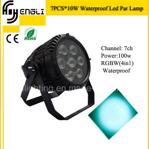 12PCS*10W 4in1stage PAR Light with CE & RoHS (HL-031) pictures & photos