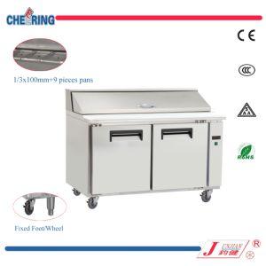 Restaurant Pizza Preparation Workbench Refrigerator pictures & photos