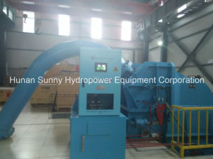 Horizontal Hydro (Water) Pelton Turbine-Generator Hv 6.3~10.5kv / Hydropower Alternator/ Hydroturbine pictures & photos