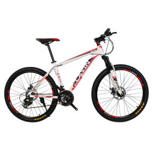 24-Speed Disc-Brake Aluminum Alloy MTB Mountain Bike with Shimano Derailleur pictures & photos