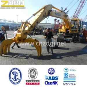 Mechical Excavator Log Large Capacity Lifting Grab Bucket pictures & photos