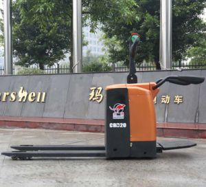 Battery Powered 2.0ton Electric Pallet Truck Suppliers (CBD20) pictures & photos