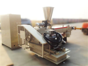 PU PVC TPR Twin Screw Extruder for Plastic Granules Making pictures & photos