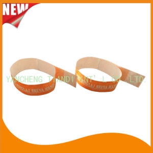Tyvek Entertainment Water-Proof Tyvek Wristbands Bracelet Bands (E3000-3-25) pictures & photos