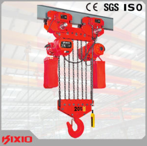 Kixio 20t Kito Type Electric Chain Hoist with Trolley pictures & photos