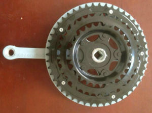Hot Selling Bicycle Chainwheel Crank with Plastic Cover pictures & photos