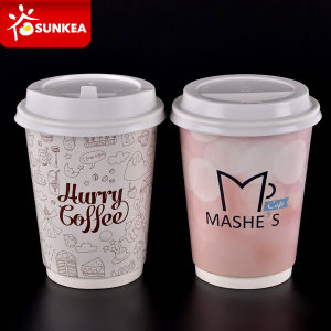 Disposable Company Brand Coffee Cups Paper Kraft pictures & photos