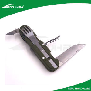 Camping Cutlery Set with Case pictures & photos
