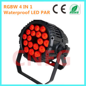 18*10W RGBW 4 in 1 LED PAR Light for Stage/ Disco