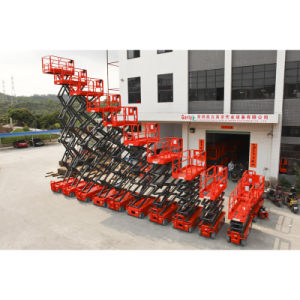 Height Extendable Platform Mobile Scissor Lift with Ce