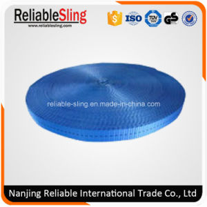 25mm Blue Polyester Webbing Belt for Tie Down Strap pictures & photos