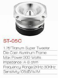 Car Audio Aluminium Super Tweeter (St-05c) pictures & photos