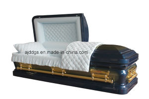 American Style Steel Coffin (18097197) pictures & photos