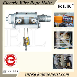 Main Product! ! Type Electric Wire Rope Hoist/Winch From China Workshop pictures & photos