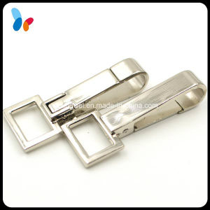 Square Metal Alloy Unswiveled Snap Hook pictures & photos