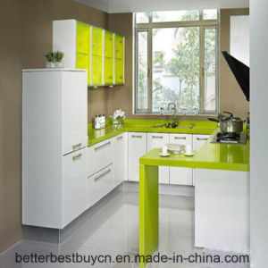 High Glossy Cheap Price Kitchen Cabinet for Sale pictures & photos