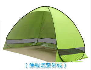 Carries UV Protection Beach Tent Automatic Pop up Instant Portable Beach Tent