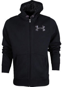 Promotional Zipper Pocket Hoodie with Embroidery (H028W) pictures & photos