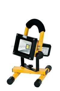 LED Portable Floodlight 10/20W Rechargeable LED Floodlight pictures & photos