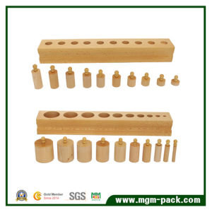 Professional Socket Cylinders Wooden Toy for Gift pictures & photos