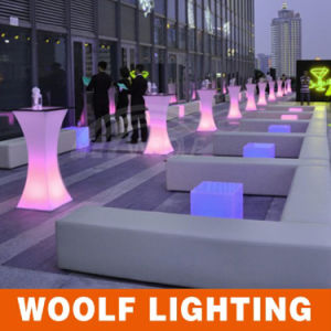 Modern LED Light up Tall Coffee Tables pictures & photos