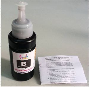 High Quality Refill Ink T6721-T6724, T6641-T6724, T7741 for Epson L101, L200, L300, L210, L310, L550, L220, Et2500, Et4500 etc Printer pictures & photos