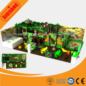 Coloful Indoor Park Amazing Kids Plastic Playground Equipment pictures & photos