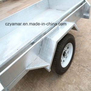 Australia Standard Cargo Box Trailer with Cage pictures & photos