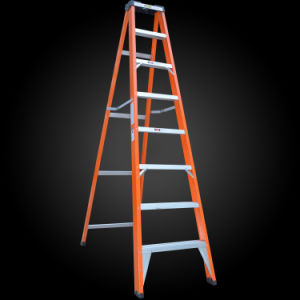 A Shape High Strength Foldable Insulated FRP Step Ladder pictures & photos