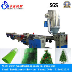 Pet Filament Drawing Machine for Artificial Pine Needles pictures & photos