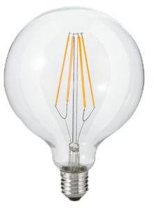 LED G95 Filament Light Bulb 6W 8W 10W 12W pictures & photos