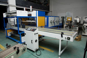 Automatic Sleeve Sealing Shrinking Packing Machine with Stainless Steel Heating Tube Pipe for PE PVC POF PP Complex Laminated Film pictures & photos