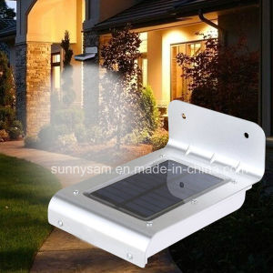 16 LED Solar Powered Lamp Garden Outdoor LED Wall Light pictures & photos