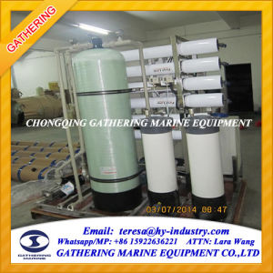 500L/H Two Stage RO Seawater Desalination Unit pictures & photos