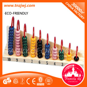Counting Toys Wooden Bead Abacus Montessori Toy pictures & photos