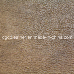 Top Fashion Semi-PU Furniture Leather (QDL-51035) pictures & photos