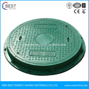 Zibo Best En124 SMC Composite Round Manhole Cover pictures & photos