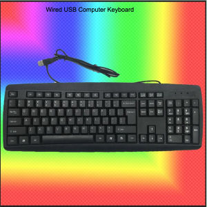 Rock Bottom Price Wired USB Computer Keyboard (KB-1805) pictures & photos