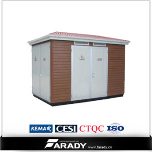 Three Phase Power 1500kVA Prefabricated Substation Factory pictures & photos