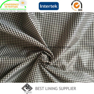 Classic Small Check Pattern Suit Jacket Coat Lining Fabric Supplier pictures & photos