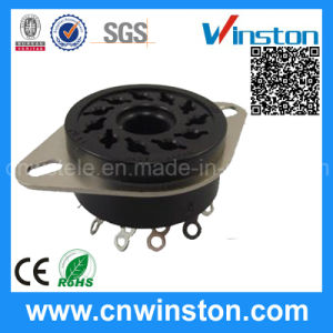 General Miniature Round Type Industrial Automotive Relay Socket with CE pictures & photos