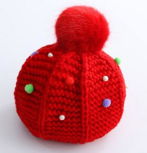 Hot Sale Children Cute Pompon Beanie Hat pictures & photos