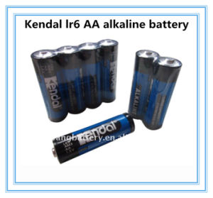 4PCS Shrink AA Lr6 1.5V Alkaline Battery High Power OEM pictures & photos